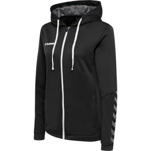 Bluza Hml Authentic Poly Zip Hoodie Woman